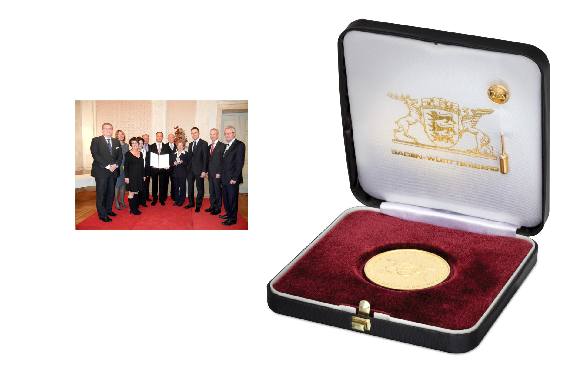Recognition to Edelstahl Rosswag through the Industry Medal of Baden-Württemberg State