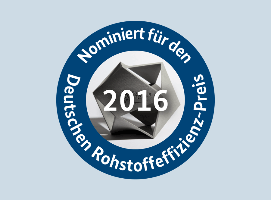 Nomination for the German Raw Materials Award 2016